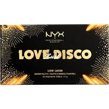 nyx love disco eyeshadow palette