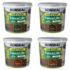 Ronseal One Coat Fence Life Tudor Harvest Gold 9l For Sale Ebay