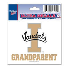 University Of Idaho Vandals Grandparent 3x4 Ultra Decal At Sticker Shoppe