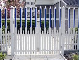 Buy White Plastic Vinyl Pvc Picket Fence For Garden Price Size Weight Model Width Okorder Com