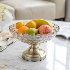 plate living room tea table decoration