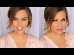 affordable work makeup hair tutorial