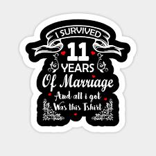 11th wedding anniversary i survived 11