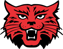 4 5inx4in Red Black Wildcat Mascot Bumper Sticker Decal Vinyl Car Stickers Decals Walmart Com Walmart Com