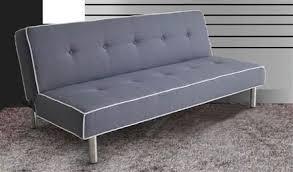 Melva Gray Fabric Adjustable Sofa   Futon sofa, Guest room futon, Futon  living room