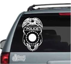 Police Law Enforcement Car Decals Stickers Decal Junky