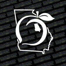 Georgia The Peach State Pride Bumper Sticker For Sale Online Ebay