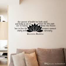 Gautama Buddha Wall Stickers Quotes Removable Vinyl Art Decals Buddhism Home Decoration Wall Murals Removable Wall Decals Nursery Removable Wall Decals Quotes From Moderndecal 7 6 Dhgate Com