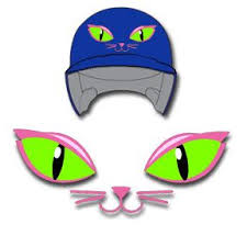 Mecabrush Affordable Airbrushed Shirts And Batting Helmets Cat Eyes Helmet Decal Hel Dec 022 Personalized Vinyl Decal Batting Helmet Softball Helmet