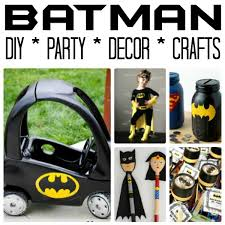 Easy Batman Diy Ideas Red Ted Art Make Crafting With Kids Easy Fun