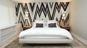 using wallpaper for accent walls