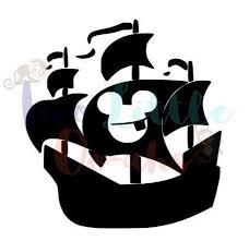 Disney Mickey Pirate Ship Vinyl Decal Car Decal Window Decal Yetti Decal Car Decals Vinyl Vinyl Decals Disney Mickey