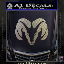 Dodge Ram Decal Sticker Head A1 Decals
