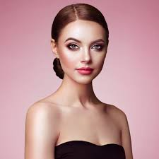 stock photo beautiful woman face with
