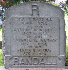 Evangeline Murray Randall (1863-1899) - Find A Grave Memorial