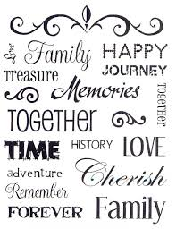the word family quotes quotesgram