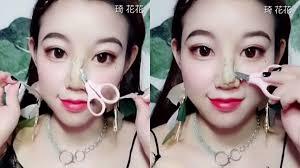 qi huahua chinese viral makeup