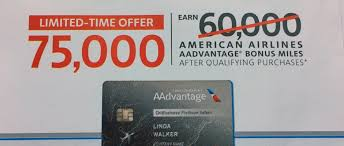 citi american airlines credit card sign