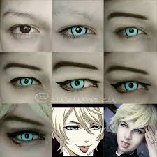 tutorial makeup cosplay anime