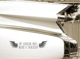 Angel Banishing Vinyl Sticker Decal Laptop Ipad Car Window Supernatural Magic Aufkleber Embleme