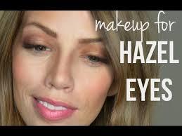 makeup for hazel eyes you