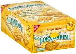 lorna doone shortbread cookies 30 ea