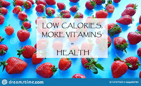 strawberry still life low calories more vitamins health quotes