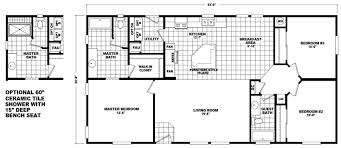 double wide floor plans the home