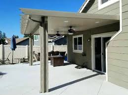 aluminum metal patio covered awnings