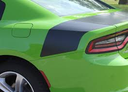 2015 2021 Dodge Charger Rear Trunk Stripe Tailband Daytona Hemi Decal Auto Motor Stripes Decals Vinyl Graphics And 3m Striping Kits