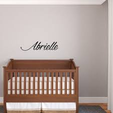 Cursive Name Wall Decals
