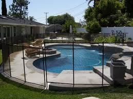 Mesh Pool Fences Top Removable Pool Safety Fences By All Safe