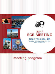 224th ECS Meeting: Meeting Program by The Electrochemical Society - issuu
