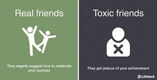 ways to tell the difference between real friends and toxic