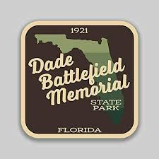Amazon Com Jb Print Magnet Dade Battlefield Memorial State Park Sticker Explore Wanderlust Camping Florida Vinyl Decal Sticker Car Waterproof Car Decal Magnetic Bumper Sticker 5 Kitchen Dining
