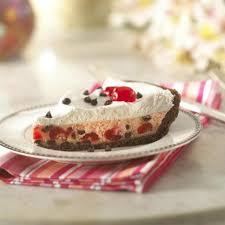 chocolate maraschino cheesecake pie