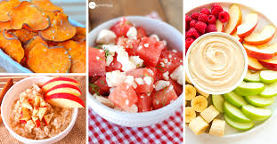 30 easy healthy snacks that power up