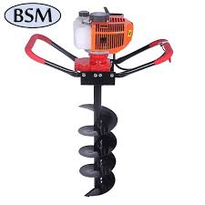 Garden Portable Small Fence Post Hole Digger Auger Drill Buy Tree Planting Hole Digger 52cc Earth Auger Earth Digging Machine Product On Alibaba Com