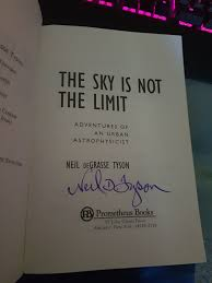 Bought a Neil deGrasse Tyson book for ...