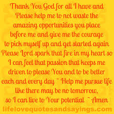 quotes about thank god quotes