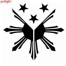 For Philippines Flag Sun Stars Graphic Die Cut Decal Sticker Car Truck Boat Sticker Car Decal Stickercar Decal Sticker Aliexpress