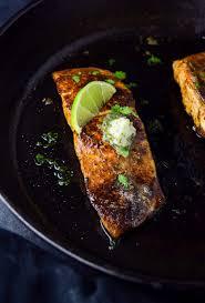 Blackened Salmon with Cilantro Lime ...