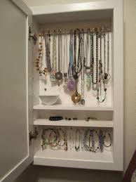 my diy wall mounted jewelry box