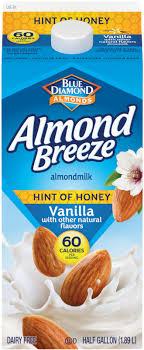 hint of honey vanilla almondmilk