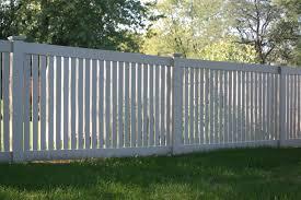 Semi Privacy Vinyl Fence Rustic Fence Vinyl Fence Vinyl Fence Panels