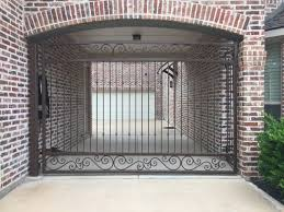 Metal Fences And Gates Wrought Iron Aluminum North Texas Fence Deck