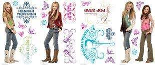 Amazon Com Hannah Montana Stickers Removable Wall Stickers Kitchen Dining