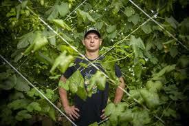 farmer pioneering texas hops growing