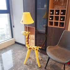 Super Cute Animal Night Light Fabric 1 Head Plug In Floor Lamp For Children Kids Bedroom Takeluckhome Com