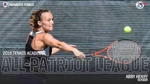 Abby Henry Named Academic All-Patriot League - Holy Cross Athletics